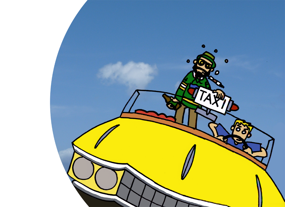 a link to the Crazy Taxi Screen art