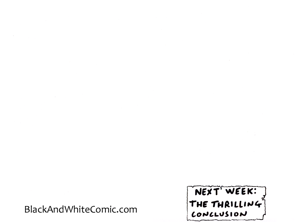 A link to the 27/12/2013 page of Black and White Comic