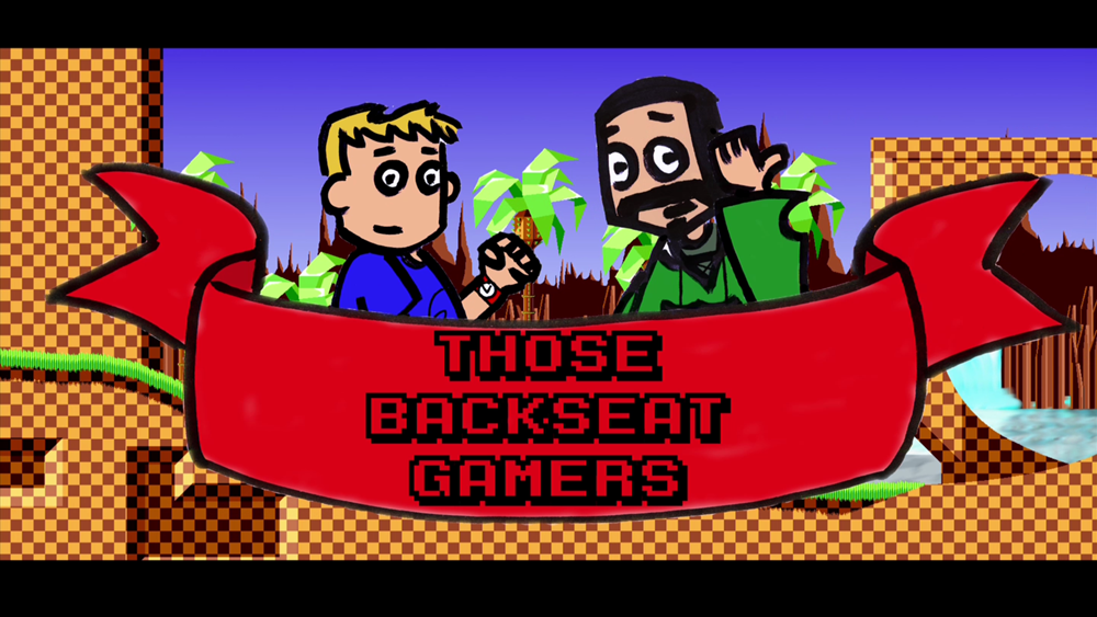 a link to the logo for Those Back Seat Gamers