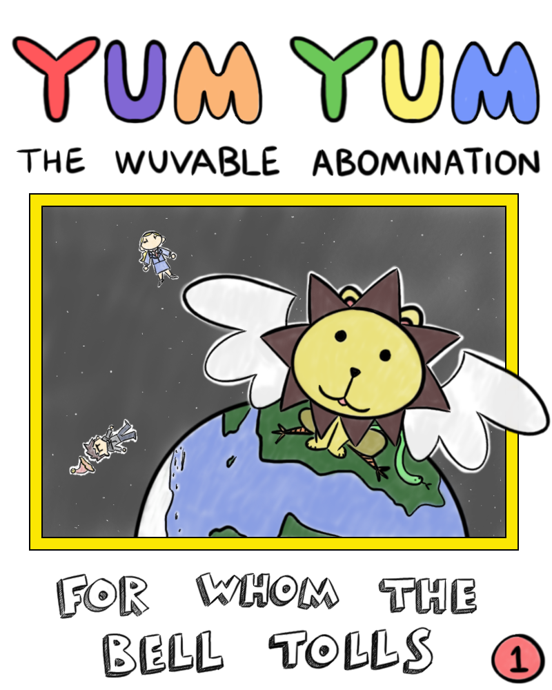 A link to the 10/08/2018 page of Black and White Comic: Yum Yum